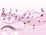 さまざまな音符のイラスト